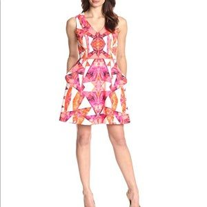 VINCE CAMUTO COLORFUL FIT & FLARE